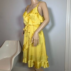 Yellow Esley Anthropologie Summer Dress